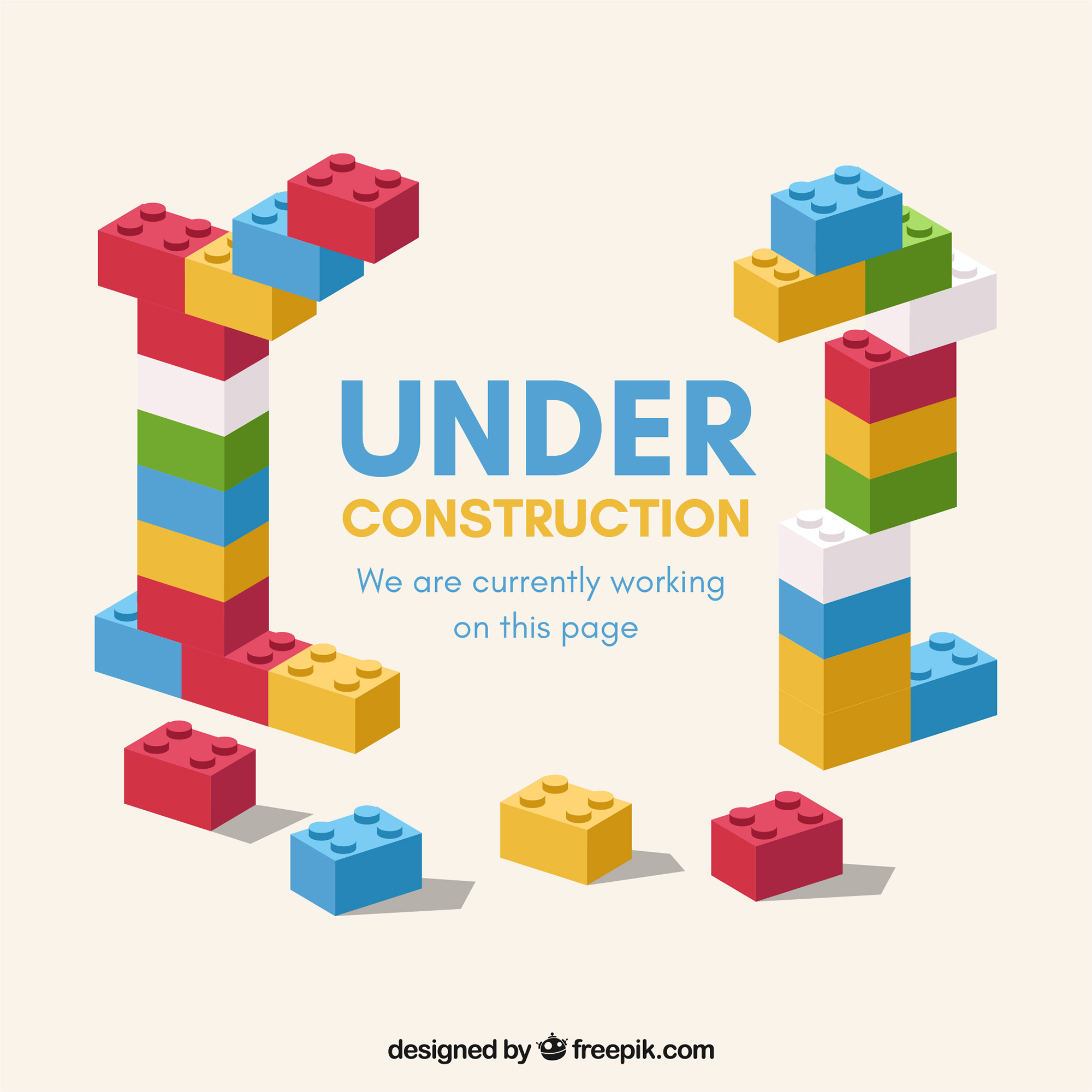 Under Construction by https://www.freepik.com/free-vector/flat-under-construction-template_1584525.htm Designed by Freepik